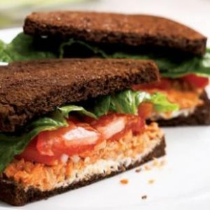 healthy sandwich image from Eating Well | Kale University
