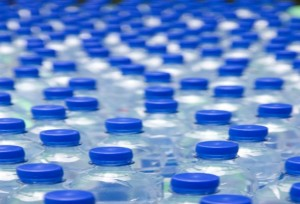 bottled water waste