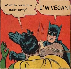 vegan batman