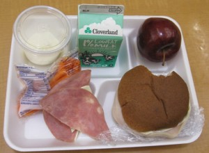 Federal school lunch program relies heavily on industrial farming.