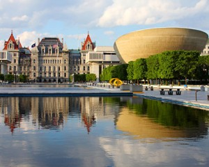 New York's capital in Albany