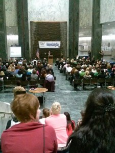 Great turn out on Humane Lobby Day NY!
