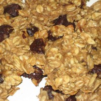 Raw Banana Walnut Oatmeal Cookies